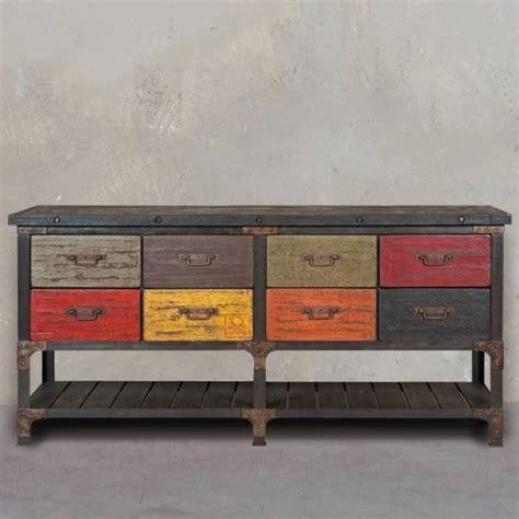 cuisine sur mesure conforama commode à tiroir design et tendance style industriel