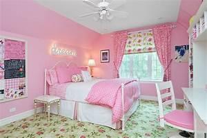12, Modern, Pink, Girls, Bedroom, Design, Ideas