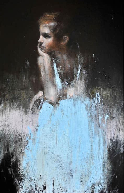 Powerful Contemporary Oil Portraits Mark Demsteader