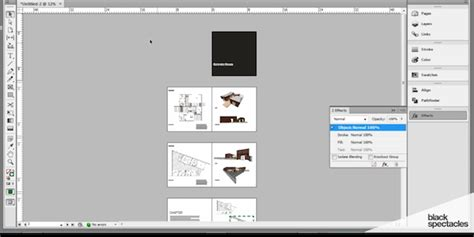 indesign presentation build an architecture indesign portfolio presentation black spectacles