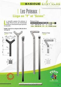 Poteau Fil à Linge : poteaux linge en y et seven perin groupe ~ Dailycaller-alerts.com Idées de Décoration