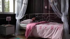 Lit Banquette Fille : chambre enfant style charme banquette lit catalogue ~ Teatrodelosmanantiales.com Idées de Décoration