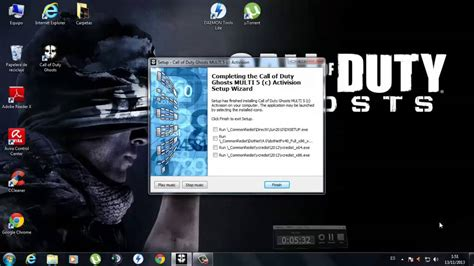 descargar  instalar call  duty ghosts full espanol pc
