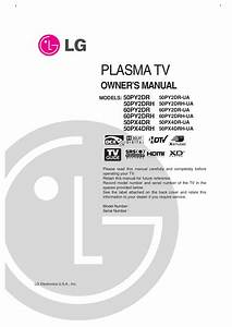 Download Free Pdf For Lg 50py2dr Tv Manual