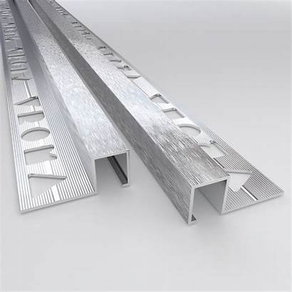 Box Edge Square Trims Tile Chrome Brushed