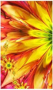 [49+] Widescreen Desktop Wallpaper Abstract Flower on ...