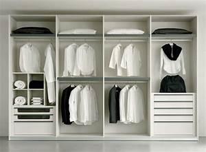Dressing Blanc Avec Penderie Et Tiroirs