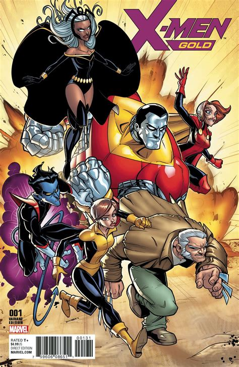 X-Men: Gold #1 (Variant Cover) (2017) Art by: Billy Martin ...