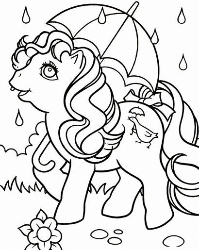 Coloring Pages Spring Rain April Olds Drawing