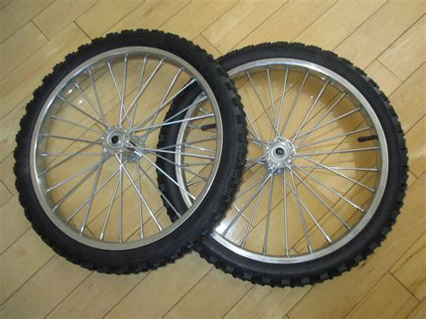 """Buy rim for cycle (steel, 20*1.75 bike rims for sale. Pair of 2 20"""" Spoke Wheels ***Free Shipping US 48***"""