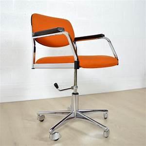Chaise De Bureau Vintage : fauteuil de bureau ann es 60 vintage ~ Teatrodelosmanantiales.com Idées de Décoration