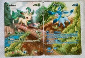 cool custom extended art pokemon trading cards