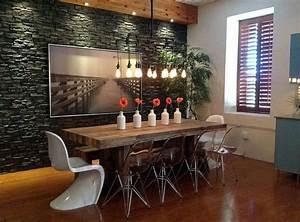 la chaise transparente une tendance moderne et originale With meuble salle À manger avec chaises salle À manger transparentes