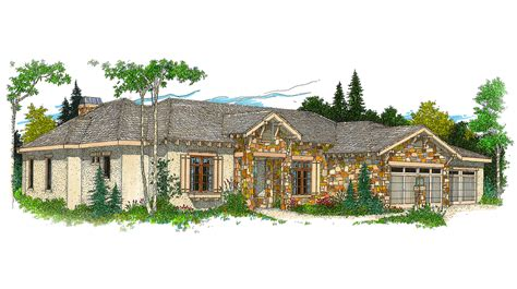 Hill Country Ranch House Plan
