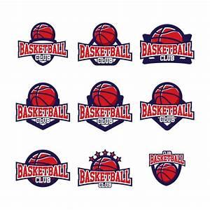 Basketball logo templates design Vector | Free Download