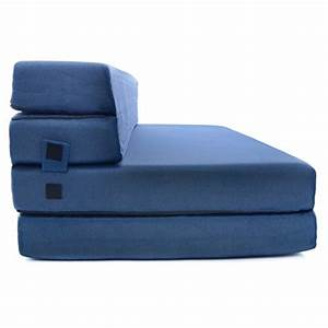 milliard tri fold foam folding mattress and sofa bed for With sleeper sofa folding foam bed