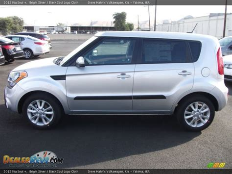 Silver Kia Soul by Bright Silver 2012 Kia Soul Photo 4 Dealerrevs