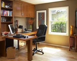 Traditional home office furniture collections decobizzcom for Traditional custom home office