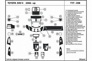 2007 Toyota Rav4 Dash Kits