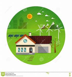 Eco Friendly House Stock Vector - Image: 73429953