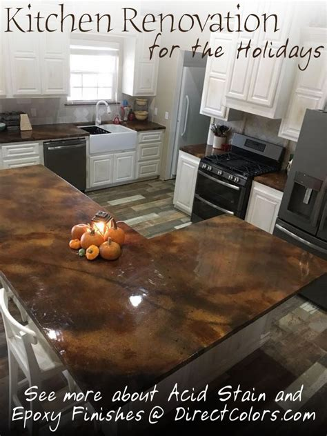 countertop direct concrete countertop acid stain supplies in 2019 clever