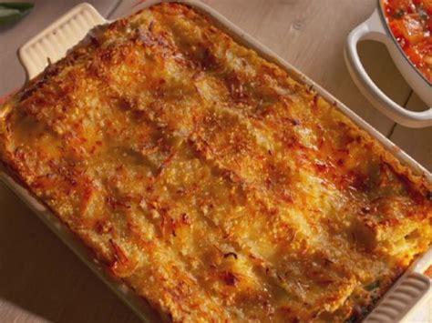 fresh vegetable lasagna  spinach  zucchini recipe