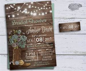 country bridal shower invitations cowboy boots wedding With free printable cowboy wedding invitations