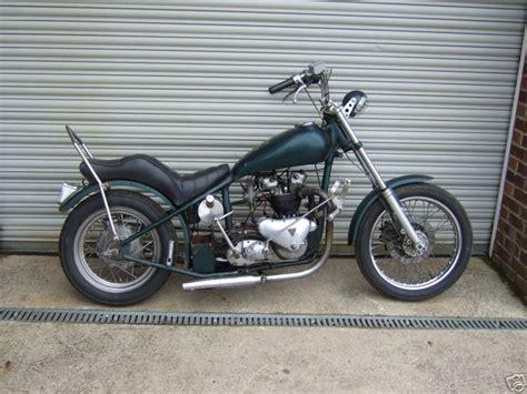 Vintage Triumph Motorcycle Custom Frames