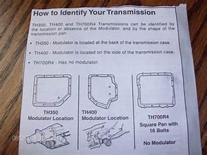 Transmission Identification - Chevrolet Forum