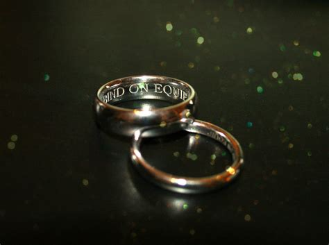 a warcraft wedding the rings by tallmancreations