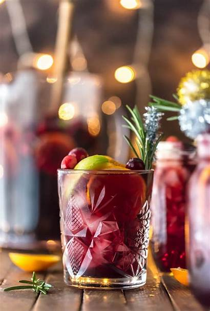 Sangria Christmas Holiday Drinks Easy Party Cocktails