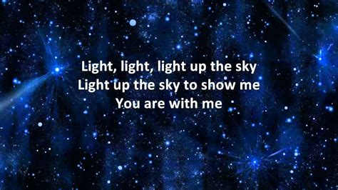 Light Up The Sky The Afters by The Afters Light Up The Sky Instrumental With Lyrics