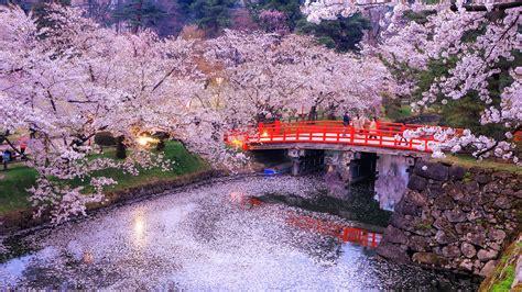 tokyo japan nature bridges parks rivers evening