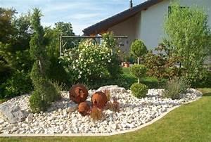 Steingarten for Feuerstelle garten mit bonsai steingarten