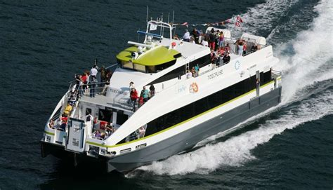 Express Boats Norway by Norled Express Boats In Bergen Bergen Fjord Norway