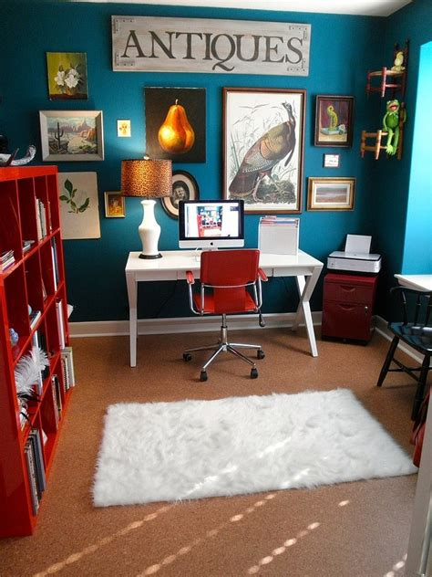 interior home design for small spaces 10 eclectic home office ideas in cheerful blue