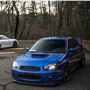 Blue Color  Boxer Power      Subaru  Impreza  Wrx  Sti  Jdm  Tuning