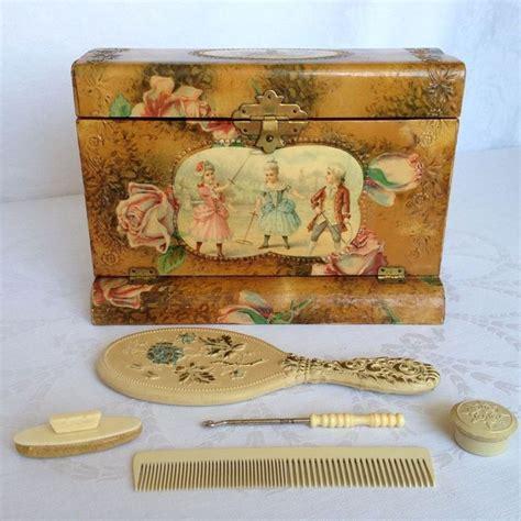 celluloid vanity dresser set 530 best images about vanity and dresser sets on