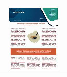 50 free newsletter templates for work school and classroom With free newletter templates
