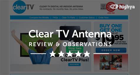 clear tv antenna reviews    scam  legit