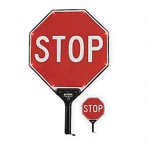 tapco led stop stop paddle sign led traffic signs and signals wwg3lch3 3lch3