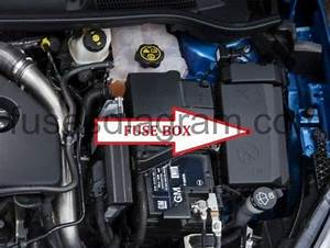 Fuse Box Opel  Vauxhall Astra J