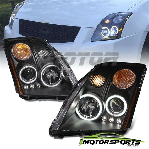 dual ccfl halo for 2007 2008 2009 nissan sentra led