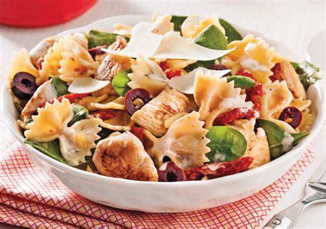 salade de p 226 tes au poulet brocoli et bocconcini encore svp