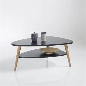 Table De Salon La Redoute : table basse vintage watford noir la redoute interieurs la redoute ~ Voncanada.com Idées de Décoration