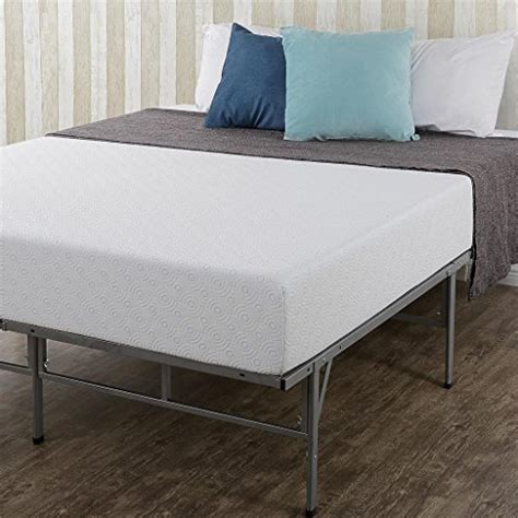spa sensations bed frame sleep master gel infused memory foam 8 inch mattress and