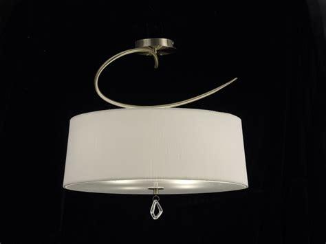 plafonnier abat jour mantra collection mara en alu cuivr 233 e blanc cass 233 luminaire design
