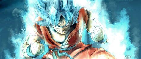 2560x1080 Goku Dragon Ball Super 4k 2018 2560x1080