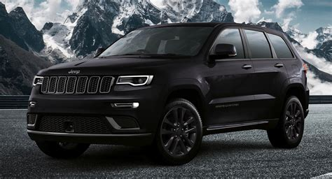 Jeep Grand Cherokee S Launches In Europe All Blacked Out