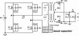 Circuit Diagram Of The Proposed Converter Based On Psfb